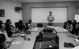 Une vingtaine d'étudiants a participé au premier atelier d'art oratoire organisé par l'AJCE.