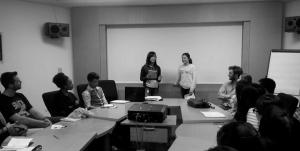 Les intervenants ont préparé divers exercices pour préparer les étudiants.