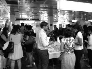 Accueil des participants autour d'un petit-déjeuner préparé par le café Kinh Do.