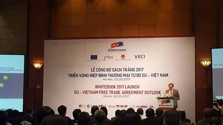 Bruno ANGELET, Ambassadeur Européen et Chef de la Délégation Européenne du Vietnam